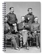 General Sherman And His Staff  Spiral Notebook