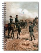 General Sherman Observing The Siege Of Atlanta Spiral Notebook