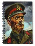 General Sir Alan Cunningham Spiral Notebook