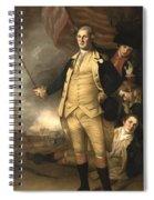 General Washington At The Battle Of Princeton Spiral Notebook