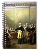 General Washington Resigning His Commission Spiral Notebook