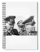 Generalfeldmarschall  Erwin Rommel And Staff Number 1 North Africa 1942 Color Added 2016 Spiral Notebook