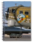 Generations B-17 And B-2 Spiral Notebook