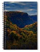 Genesee River Gorge Spiral Notebook