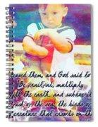 Genesis 1 28 Spiral Notebook