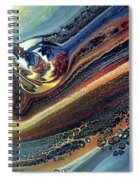 Genesis Of Decay Urban Abstract Spiral Notebook