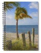 Gentle Breeze At The Beach Spiral Notebook