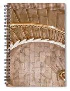 Gentle Curves Spiral Notebook