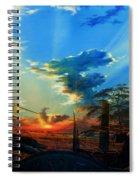 Gentle Days Of Simple Ways Spiral Notebook