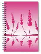 Gentle Hearts Spiral Notebook
