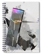 Gentle In The Face Of Beauty Spiral Notebook