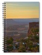 Gentle Morning Spiral Notebook