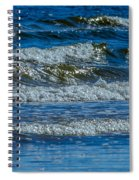 Gentle Roll Of The Waves Spiral Notebook