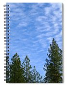 Gentle Sky Spiral Notebook