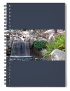 Gentle Waterfall Spiral Notebook
