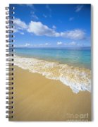 Gentle Waves Rolling Spiral Notebook