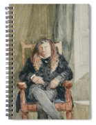 Gentleman Taking A Nap Spiral Notebook