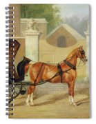 Gentlemen's Carriages - A Cabriolet Spiral Notebook