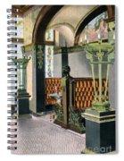 Gentlemen's Grill - Alexandria Hotel - Los Angeles - 1910s Spiral Notebook