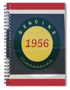 Genuine 1956 Chevrolet Spiral Notebook