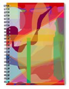 Geo Frenzy Spiral Notebook