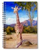 Geoffrey Giraffe Spiral Notebook