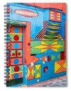 Geometric Art In Burano Spiral Notebook