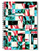 Geometric Confusion 2 Spiral Notebook