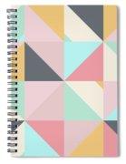 Geometric Pattern Xv Spiral Notebook
