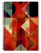 Geomix-04 - 39c3at22g Spiral Notebook