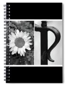 George Alphabet Art Spiral Notebook