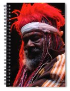George Clinton Of Parliament Funkadelic Spiral Notebook