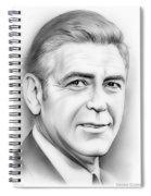 George Clooney Spiral Notebook