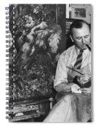 George Grosz (1893-1959) Spiral Notebook