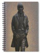 George Harrison N F Spiral Notebook