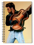 George Michael Painting Spiral Notebook