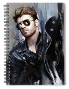 George Michael Singer Spiral Notebook