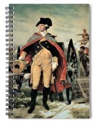 George Washington At Dorchester Heights Spiral Notebook