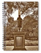 George Washington, Charleston,sc Spiral Notebook