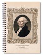 George Washington - Vintage Color Portrait Spiral Notebook