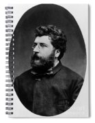 Georges Bizet, French Composer Spiral Notebook