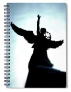 Georges-etienne Cartier Monument Spiral Notebook