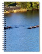 Georgetown Crew On The Potomac? Spiral Notebook