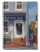 Georgetown Tee's Spiral Notebook
