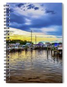 Georgetown Yacht Basin Spiral Notebook