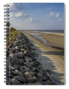 Georgia Atlantic Sea Barrier Spiral Notebook