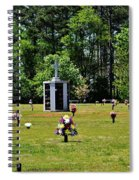 Georgia Memorial Gardens Spiral Notebook