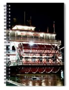 Georgia Queen Riverboat On The Savannah Riverfront Spiral Notebook
