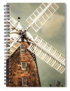 Georgian Stone Windmill  Spiral Notebook