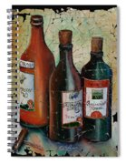 Georgian Wine Fresco Spiral Notebook